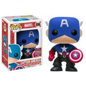 Funko Pop! Capitán América Exclusivo SDCC 2017
