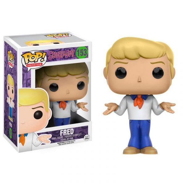 Figura Vinyl POP! Scooby Doo Fred