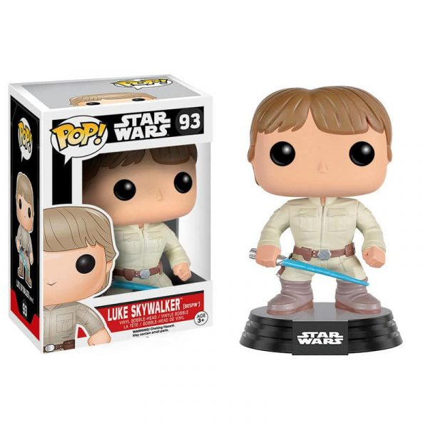 Figura Vinyl POP! Star Wars Bespin Luke