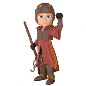 Figura Rock Candy Harry Potter Ron in Quidditch Uniform