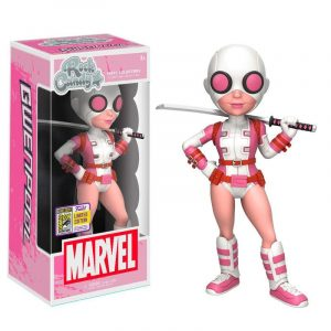 Figura Rock Candy Marvel Gwenpool SDCC 2017 Exclusivo