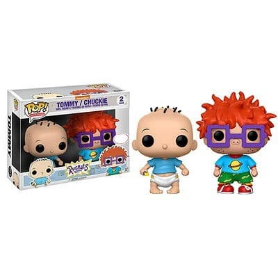 Figuras POP! Vinyl Rugrats Tommy and Chucky Limited