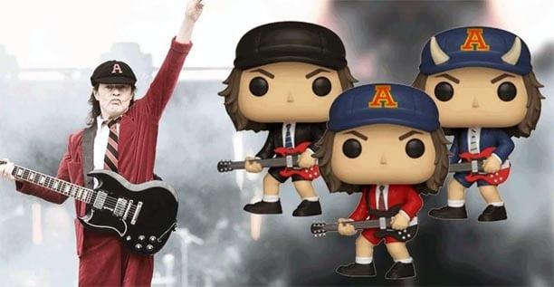Figuras Funko Pop de AC/DC