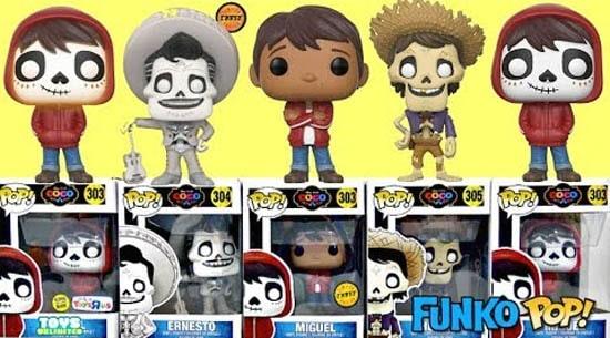 Figuras Funko Pop de Coco