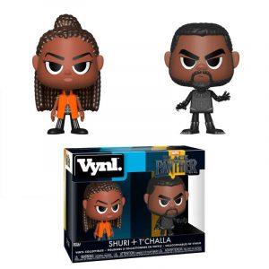 Figuras Vynl Marvel Black Panther & Shuri