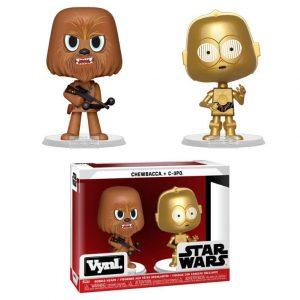 Figuras Vynl Star Wars Chewbacca & C-3PO