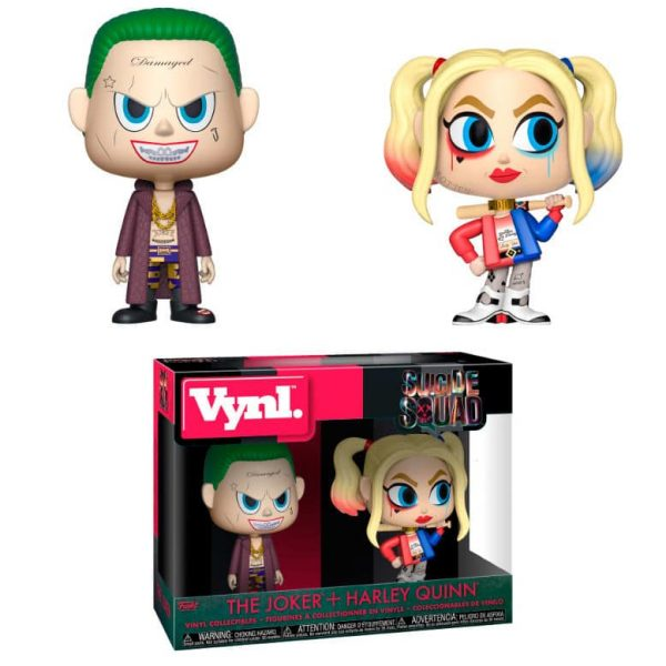 Figuras vynl DC Suicide Squad The Joker & Harley Quinn