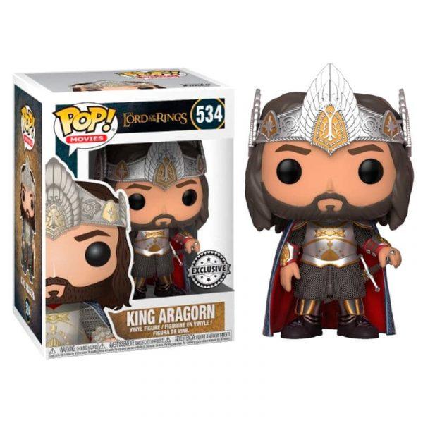 Figure POP El Señor de los Anillos Aragorn Exclusive