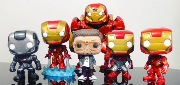Figuras Funko Pop! Iron Man