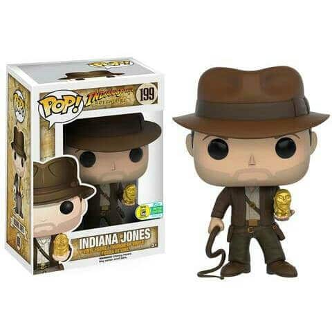 Funko Pop! Indiana Jones (Exclusivo SDCC 2016)