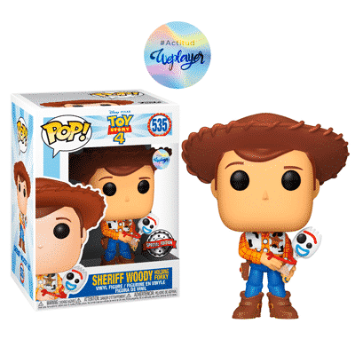 Funko pop woody exclusivo