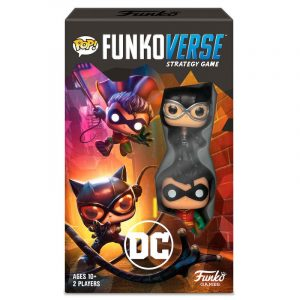 Juego de Mesa Funkoverse DC Comics 2 Figuras Español