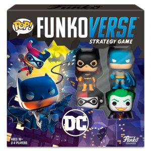 Juego de Mesa Funkoverse DC Comics 4 Figuras Español