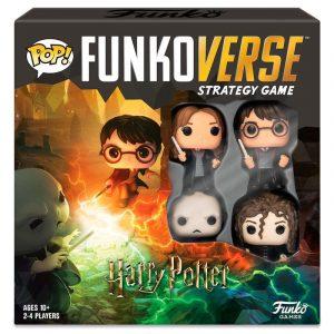 Juego de Mesa Funkoverse Harry Potter 4 Figuras Español