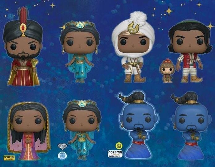 Listado de Funko Pop Aladdin