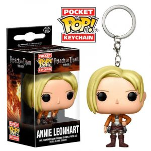 Llavero Pocket POP! Attack on Titan Annie Leonhart