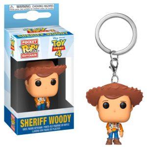 Llavero Pocket POP! Disney Toy Story 4 Woody
