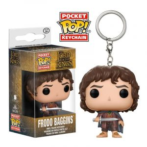 Llavero Pocket POP! El Señor de los Anillos Frodo Baggins