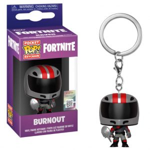 Llavero Pocket POP! Fortnite Burnout