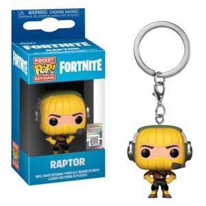 Llavero Pocket POP! Fortnite Raptor