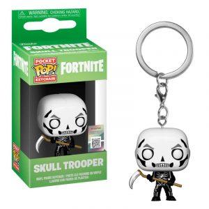 Llavero Pocket POP! Fortnite Skull Trooper