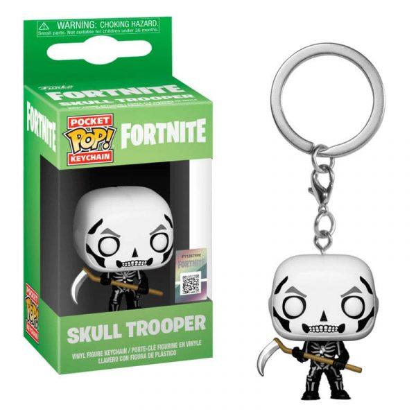 Llavero Pocket POP Fortnite Skull Trooper