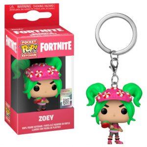 Llavero Pocket POP! Fortnite Zoey