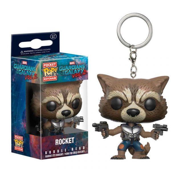 Llavero Pocket POP Guardians of the Galaxy Rocket