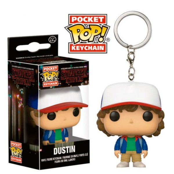 Llavero Pocket POP Stranger Things Dustin