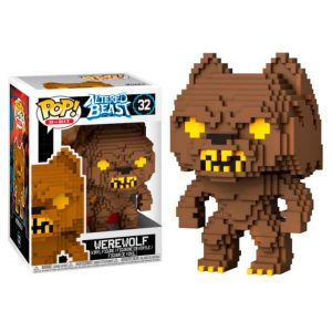 Funko Pop! 8-Bit Altered Beasts-Greek Warrior Werewolf