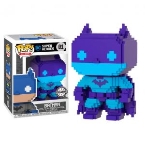 Funko Pop! Batman Exclusivo (8-Bit) [DC Super Heroes]