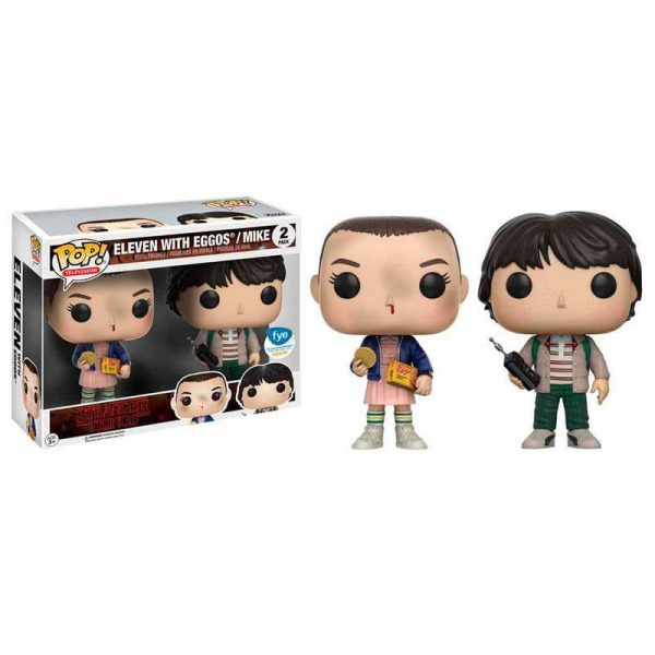 Pack 2 figuras POP! Stranger Things Eleven + Mike Exclusive