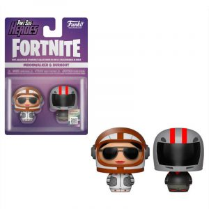 Pack 2 figuras Pint Size Fortnite Moonwalker & Burnout