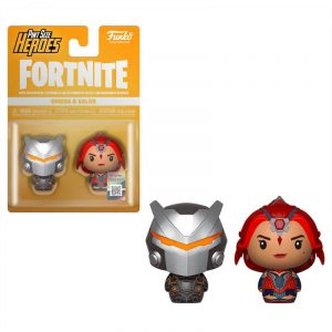 Pack 2 figuras Pint Size Fortnite Omega & Valor