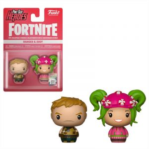 Pack 2 figuras Pint Size Fortnite Ranger & Zoey