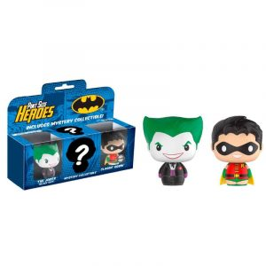 Pack 3 figuras Pint Size DC Comics Batman Limited