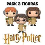 Pack 3 figuras Funko Pop harry potter
