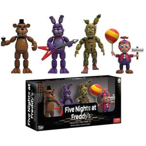 Pack 4 figuras Five Nights at Freddy's Pack 2
