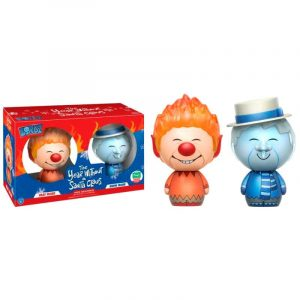 Pack 2 Figuras Funko Dorbz The Year without a Santa Claus Heat Miser & Snow Miser Exclusivo