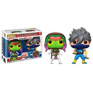Pack 2 Funko Pop! Capcom vs Marvel Gamora vs Strider Exclusivo