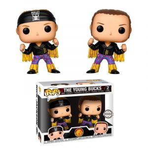 Pack 2 Funko Pop! WWE Bullet Club Young Bucks Exclusivo