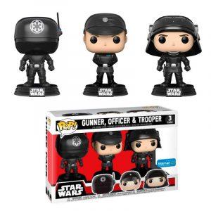 Pack 3 Funko Pop! Gunner / Officer / Trooper [Star Wars] Exclusivo