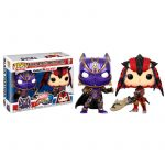 Pack 2 Funko Pop! Black Panther vs Monster Hunter