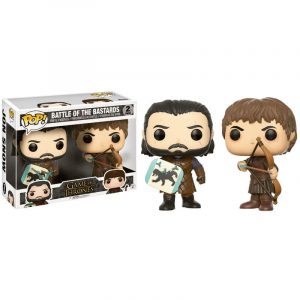 Funko Pop! Battle of the Bastards (2-Pack) [Juego de Tronos]