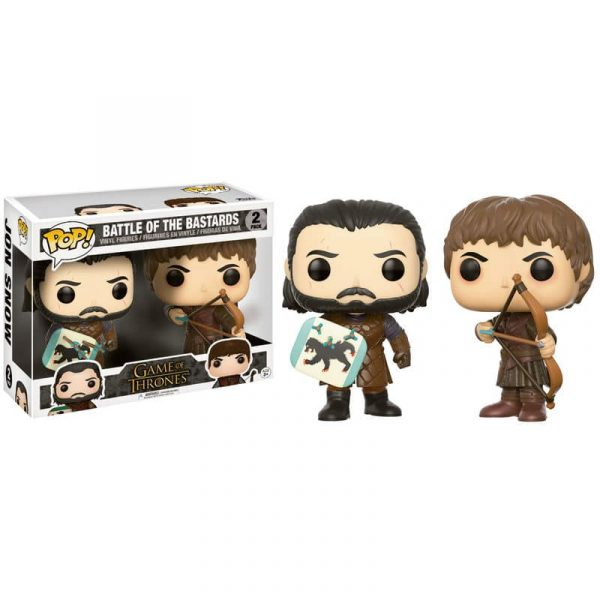 Set figuras POP Game of Thrones Jon Snow & Ramsay Bolton Duel