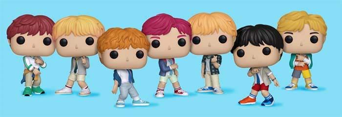Colección Funko Pop BTS