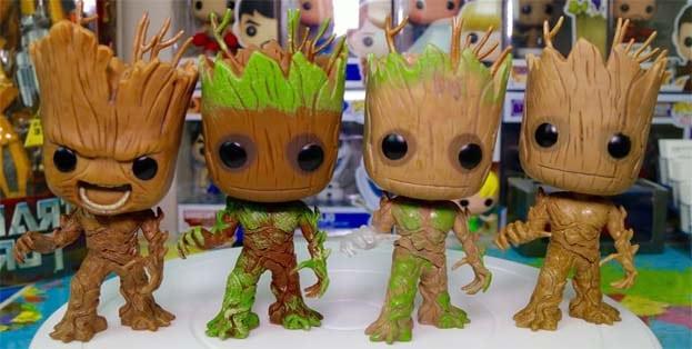 Colección de Figuras Funko Pop Groot