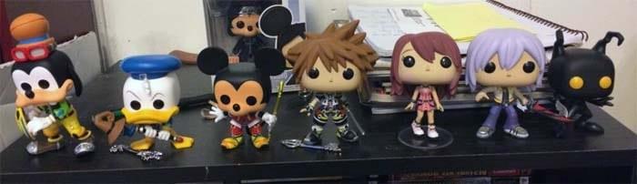 Colección Figuras Funko Pop Kingdom Hearts