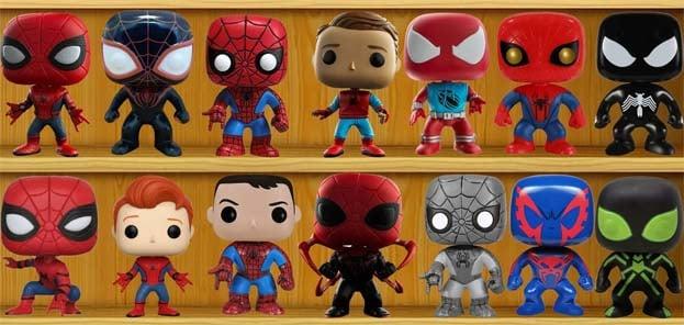 Colección Figuras Funko Pop Spider-Man