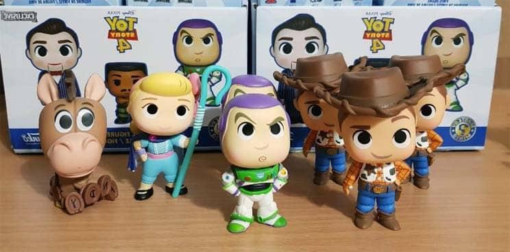 Colección Figuras Mystery Minis